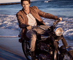 jeremy, mcqueen, and motorcycle image