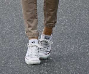 converse, fashion, and white image