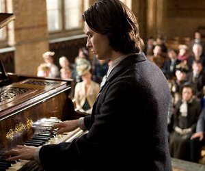 ben barnes, dorian gray, and piano image