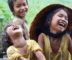 happy, laughing, and smile image