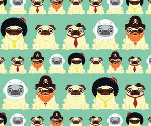 background and pugs image