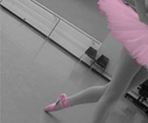 ballerina, cute, and girl image