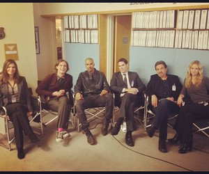 baby girl, criminal minds, and shemar moore image