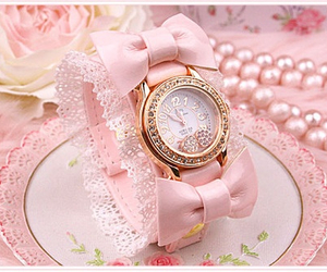 floral, pastel, and time image