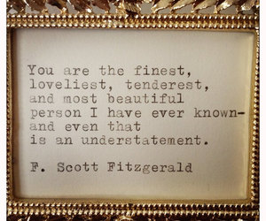 quotes, f. scott fitzgerald, and fitzgerald image
