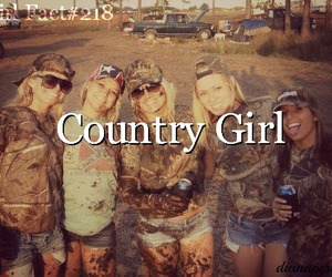country, girl, and girls image