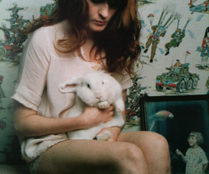 bunny, florence and the machine, and florence welch image