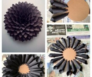 diy, flowers, and black image