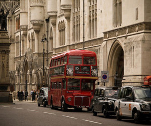bus, cars, and cute image