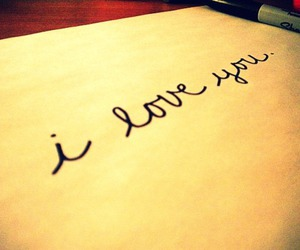 love, cute, and I Love You image