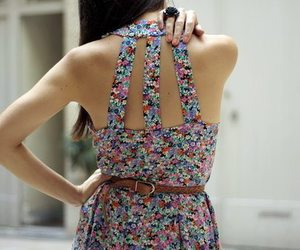 beautiful, floral, and cute image