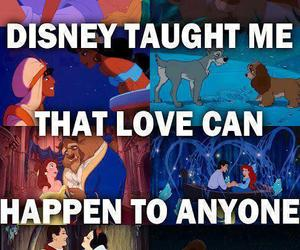 disney, love, and quotes image