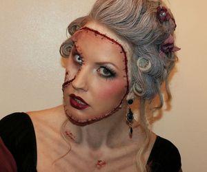 make up, fantasy, and sandra holmbom image