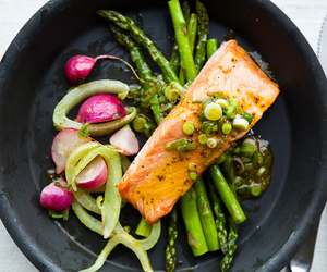 colors, yum, and salmon image
