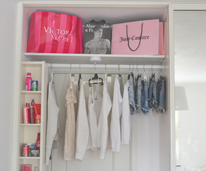 clothes, closet, and Victoria's Secret image