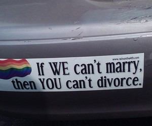 gay and divorce image