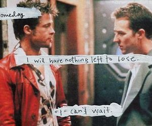 fight club, brad pitt, and quote image
