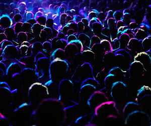 people, concert, and party image