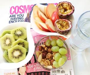 food, magazine, and pink image