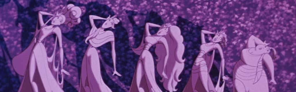 ode to the muses from hercules on we heart it