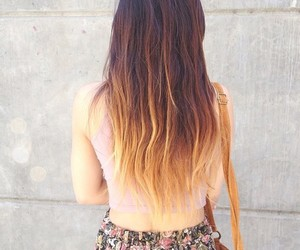 hair, ombre, and cute image