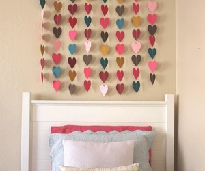 diy, hearts, and room image