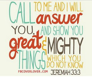 answer, bible, and calling image