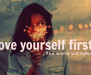 love, yourself, and love yourself image