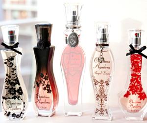 christina aguilera and perfume image