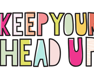 quote, head, and up image