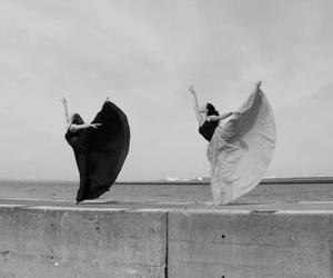 ballerina, ballet, and batma image