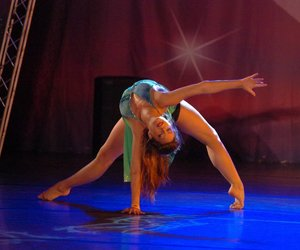 ballerina, ballet, and contemporary dance image