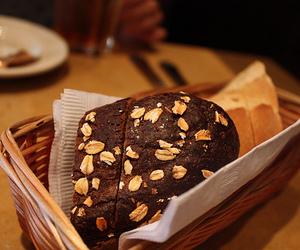 bread, food, and sweet image