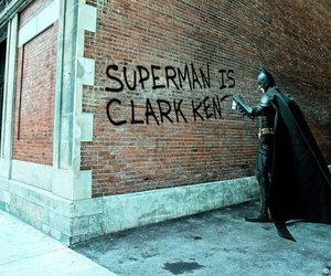 batman, superman, and funny image