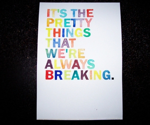 color, cursive, and quote image