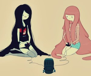 adventure time, marceline, and hora de aventura image