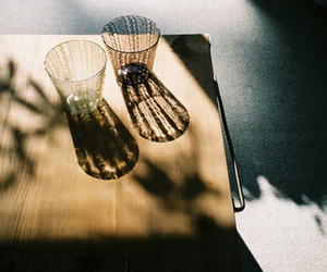photography, shadow, and glasses image