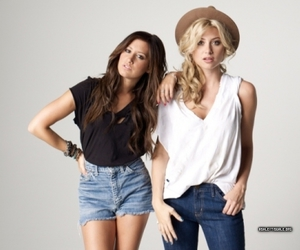 ashley tisdale and alyson michalka image