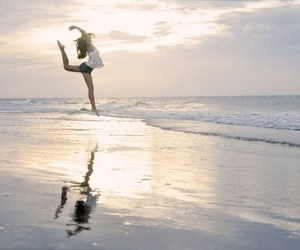 beach, dance, and photography image