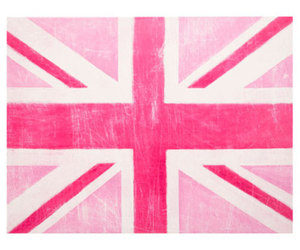 pink, uk, and flag image