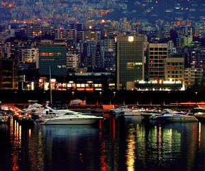Beirut and light image
