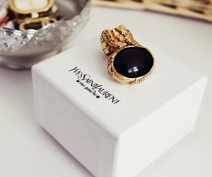 fashion, YSL, and ring image