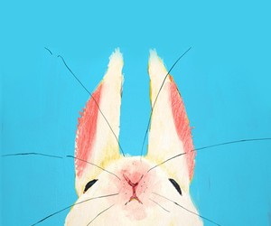 rabbit, bunny, and art image