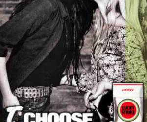 lesbian and lucky strike image