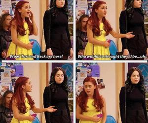 ariana grande, cat valentine, and victorious image