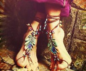 hippie, bohemian, and boho image