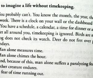 time, quote, and timekeeping image
