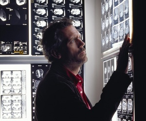 house md, hugh laurie, and house image