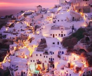 Greece, light, and travel image