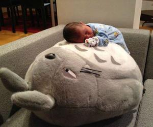 baby and totoro image